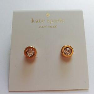 Kate spade small crystal studs